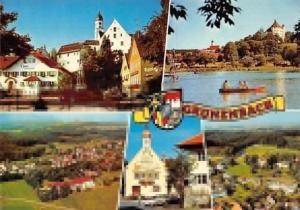 Groenenbach, Gesamntansicht Gasthaus Pension Lake Boats Bateaux Auto Cars