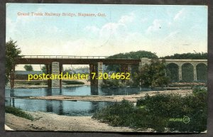 4652 - NAPANEE Ontario 1907 GTR Railway Bridge