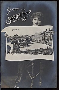 Germany Grüss aus Bayreuth RPPC