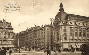CPA Paris 4e (Dep. 75) Place St. Gervais (58473)