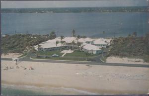 PALM BEACH, aerial view of the Palm Beach Hampton, 1950s - OLD A1A ROAD - GONE