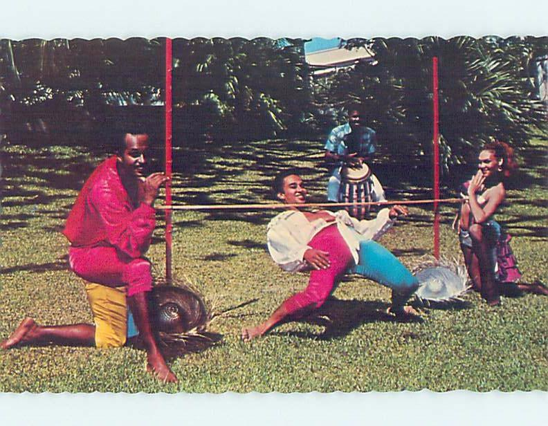 Pre-1980 LIMBO DANCING Country Of Jamaica F5689