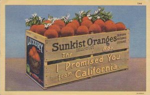 Box Of Ornages From California 1946