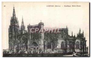 Old Postcard The Thorn Notre Dame