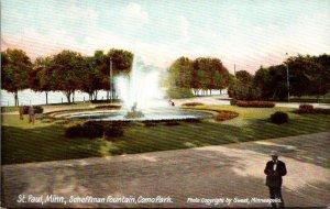 Minnesota St Paul Como Park Scheffman Fountain