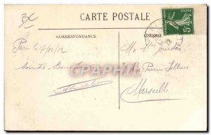 Postcard Old Bike Cycle Cycling Tire Hutchinson Victor Dupre