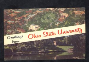 GREETINGS FROM OHIO STATE UNIVERSITY POSTCARD