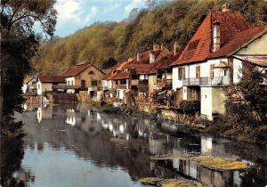 France L'Isle sur le Doubs Petit Doubs en Aval River Houses