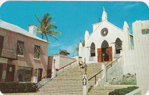 Bermuda St Peter's St George's Parish Church 1962