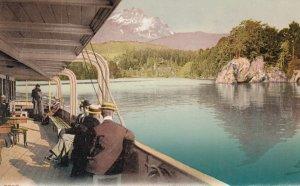 SWITZERLAND, 1900-10s; Vierwaldstattersee und Pilatus, Mount Pilatus