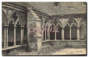 Postcard Old North Cotes 1643 Treguier Le Cloitre