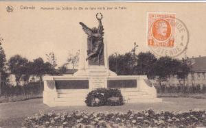 Monument Aux Soldats Du 23e De Ligne Morts Pour La Patrie, Ostende (West Flan...
