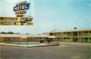 AR, Conway, Arkansas, Townhouse Motel, Color Cards No. 1912
