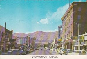 Nevada Winnemucca Main Street Scene