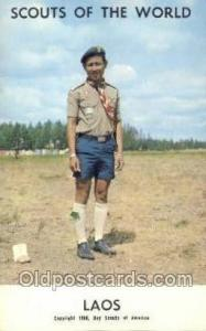 Laos Boy Scouts of America, Scouting Postcard, Post Cards, Copyright 1968  Laos