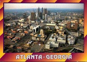 Georgia Atlanta Aerial View Of Georgia's State Government Complex 1996