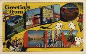 Reno, Nevada Large Letter Town Towns Post Cards Postcards  Reno, Nevada USA
