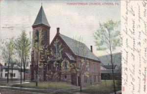 Presbyterian Church, ATHENS, Pennsylvania, PU-1909