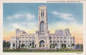 Indiana Indianapolis Scottish Rite Cathedral Curteich