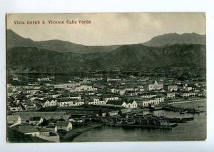 213805 AFRICA CABO VERDE view Gerab S.Vicente Vintage postcard