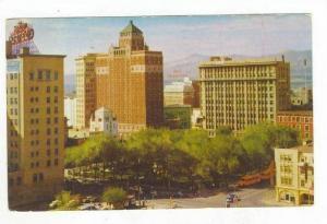 Overlooking The Plaza, El Paso, Texas, PU-1958