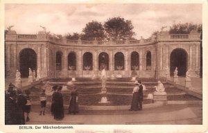 Der Marchenbrunnen Berlin Germany Unused