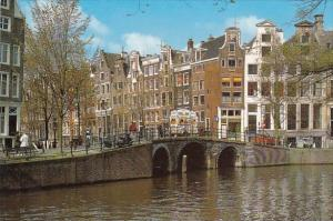 Netherlands Amsterdam Holland Old Gables On the Herengracht