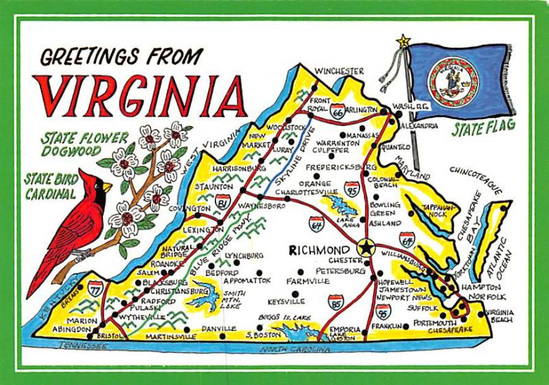 Virginia - Map