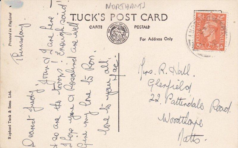 TUCK: AYNHO, Northamptonshire, England, United Kingdom; Lime Tree Avenue, PU-...