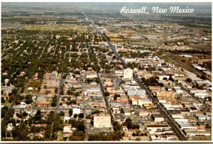 New Mexico Roswell Aerial View