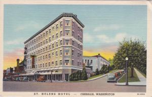 CHEHALIS , Washington , 30-40s ;  St. Helens Hotel