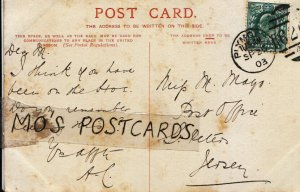 Genealogy Postcard - Mags - Post Office - St Peters - Jersey - Ref 521B