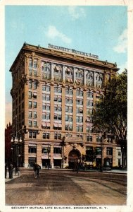 New York Binghamton Security Mutual Life Building 1920