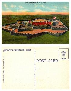 Fort Ticonderoga, New York in 1777