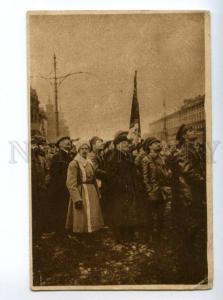 147698 LENIN on Red Square Parade Vintage MEZHRABPROM PC
