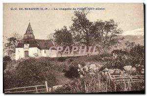 Postcard Old St Savior's Chapel Pletat