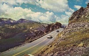 Rock Cut On Trail Ridge Road Rocky Mountain National Park Colorado