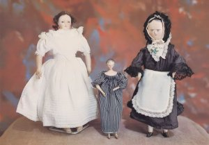 German & Dutch Porcelain Victorian Doll Arreton Isle Of Wight Postcard