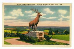 Bennington, Vermont to Philadelphia, Pennsylvania 1939 PC, The Elk, Mohawk Trail