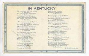 Poem, IN Kentucky, PU-1910