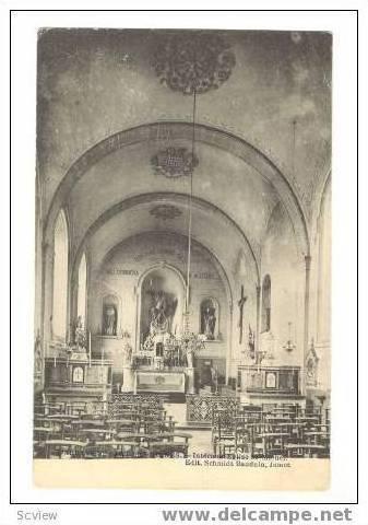 Interieur Eglise St. Michel, L'Abbaye de Sart Les Moines, Belgium, 00-10s