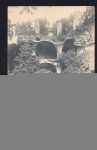 HEIDELBERG GERMANY DER GESPRENTE TURM GERMAN OLD VINTAGE POSTCARD