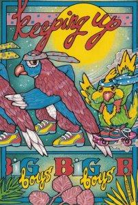 Artist Leanne C. BOYD , 1987 : Keeping up with the big boys