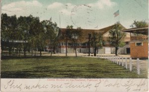 PAWTUXET RI - Bathing casino RHODES on  the Pawtuxet River / 1907 / still open !