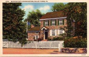 Pennsylvania Valley Forge Washington's Headquarters Curteich