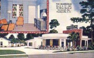The Magnolia, Hardeeville, SC, USA Motel Hotel Unused
