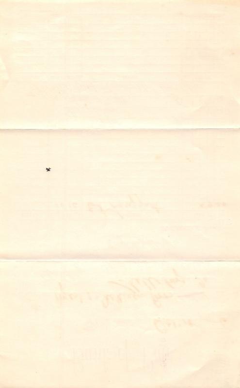 Palo IA Bank Draft Statement~Dickinson of Shellsburg~Pres Gerecke~1906