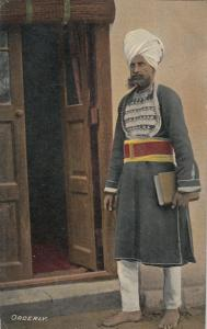 INDIA, 1900-1910's; Orderly