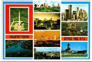 Texas Houston Multi View