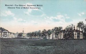 Canada Montreal General View Of McGill University